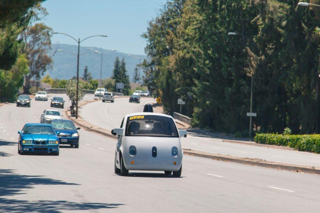проба беспилотного авто
