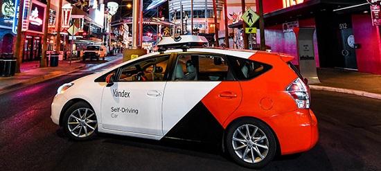беспилотный автомобиль Яндекса