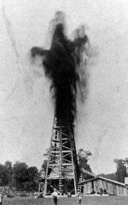 первая добыча нефти