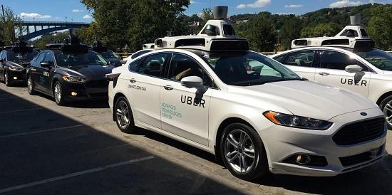 автопилот uber