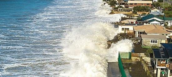 опасность повышения уровня моря