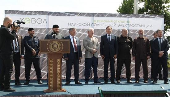 чеченская солнечная электростанция